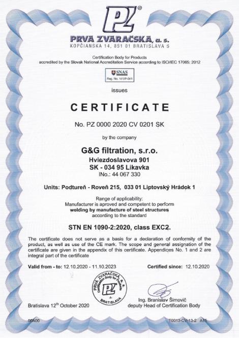 1090-2: 2020 Сварка и производство металлоконструкций