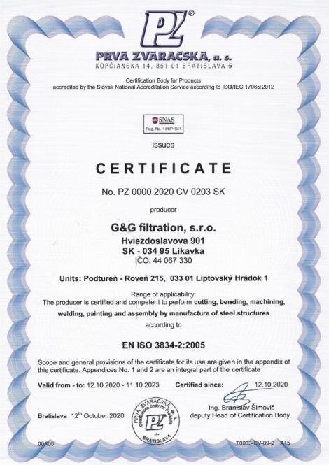 3834-2: 2005 Сварка плавлением при производстве стальных конструкций.