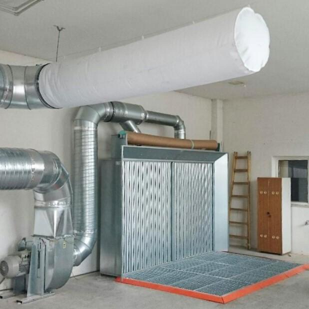 Всасывающие стенки для мокрого и порошкового покрытия