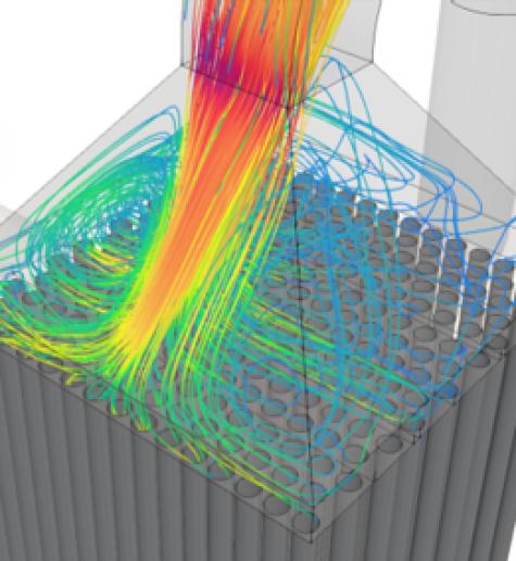 Моделирование потока CFD